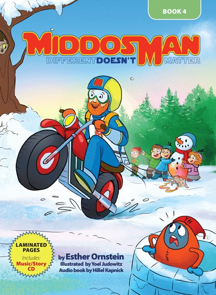 Middos Man - Volume IV -  Book & Read-Along CD