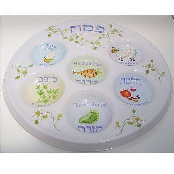 Plastic Seder Plate - Disposable  sc 1 st  Got Judaica & Got Judaica u2014 Seder Plates / Matazah Plates
